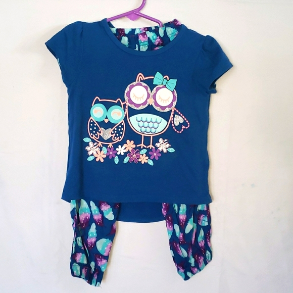 HEALTHTEX owl outfit 3t